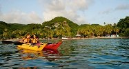 Kayaking Near Anse Chastanet Beach