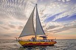 Newlywed Couple on Anse Chastanet's 'Suzi Q' Sailboat