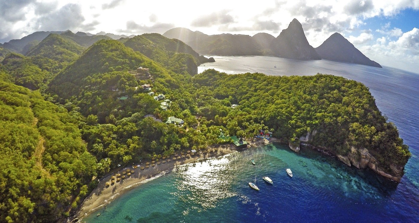 Anse Chastanet Resort St Lucia Resorts Caribbean S Most Romantic