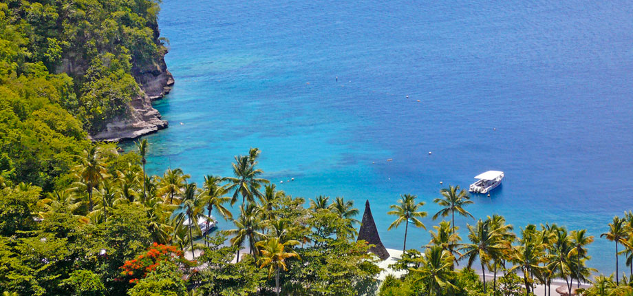 Anse Chastanet, St Lucia's best vacation resort