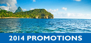 Anse Chastanet, St Lucia Promotions, Weddings, Honeymoons, Scuba Diving